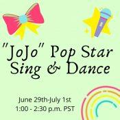 JoJo Pop Star